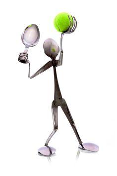 Tennis Player - Spoon
