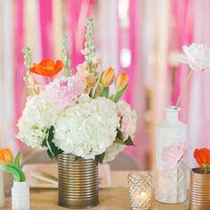 Tin Can Wedding Ideas