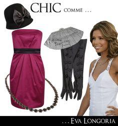 tenue chic eva longoria - Le Noël des 7 familles - mode femme