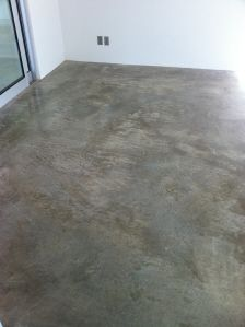 Stained Concrete Art