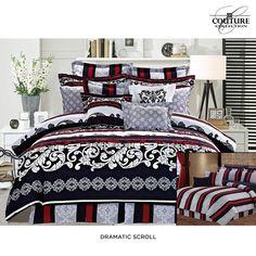 10-Piece Set: Reversible Printed Comforter Ensemble - Assorted Colors   nomorerack.com