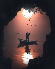 Want to write some sweet love text messages Silhouette Photography, Moon Photography, Silhouette Art, Couple Photography, Love Wallpaper Backgrounds, Couple Wallpaper, Lovers Images, Love Wallpapers Romantic, Cute Couple Art