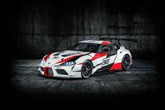 O Toyota GR Supra Racing Concept é um protótipo de um carro de corridas que serve, essencialmente, para antecipar a nova geração do Cupra, a lançar em 2019