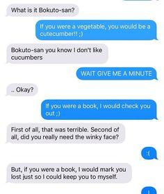 Haikyuu text post