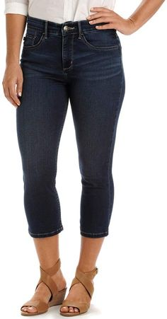 Lee Women's Frenchie Easy Fit Capri Jeans