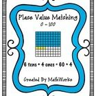 This matching game involves 3 different types of cards, 2-digit number cards, shaded in 100 charts, and expanded notation.  Students will match 3 c...