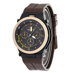 LDUA023B Men Quartz Watch Waterproof Silicone Strap Luxury Brand Watch ** Check out the image by visiting the link. (Note:Amazon affiliate link)