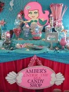 "Photo 2 of 8: Mermaid Theme / Birthday ""Under the Sea Mermaid Theme"" | Catch My Party"