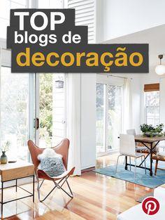 Saiba quais são os Top 10 blogs de decoração mais pinados no Pinterest!