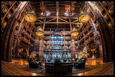 The best hotel lobby in all of Walt Disney World