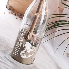 Flaschenpost als Geschenk zur Hochzeit