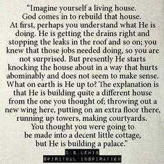 Wonderful analogy!