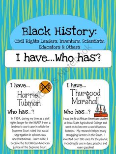 Black History: Civil Rights Leaders and Others product from Jasons-Classroom on… Social Studies Classroom, Social Studies Resources, Online Classroom, Teaching Social Studies, Teaching History, Student Learning, Classroom Ideas, Future Classroom, Teacher Resources