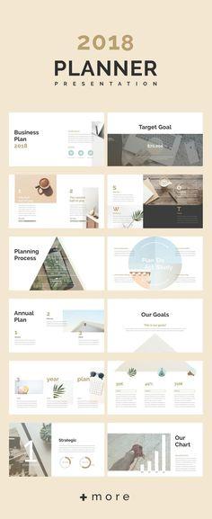 Planner keynote presentation template: 2018 business planning