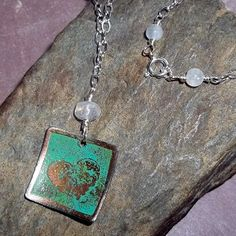 Dream Ancient Patina Charm Necklace $73