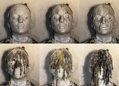 Gaetano Costa wax dripping - colatura n° 6