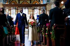 Stacey and Akosa's Fun and Colourful Isle of Wight Wedding by Jessica at Babb Photo
