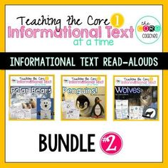 Informational Read Aloud Bundle #2, Lesson Plans and Activities
