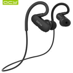 Cheapest prices US $21.45  QCY QY31 IPX4 sweatproof headphones Bluetooth 4.1 wireless sports headset aptx stereo earphones with MIC for iphone android   Search here: DVR