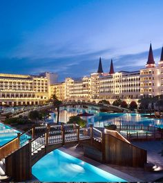 The Mardan Palace Hotel one of the most luxurious hotels in the Mediterranean region, was opened in the popular Turkish resort town of Antalya Hotels And Resorts, Best Hotels, Amazing Hotels, Find Hotels, Mardan Palace, Beautiful World, Beautiful Places, Places To Travel, Places To Go