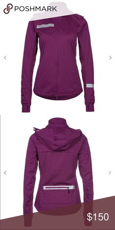 3e6a1daf03c1 Nike Women s Dri-Fit Element Shield Max Jacket 💟 raspberry red color (more  like