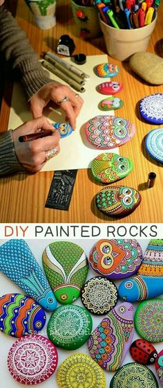 Of The BEST Crafts For Kids To Make (projects for boys & girls!) Painted Rocks -- 29 creative crafts for kids that adults will actually enjoy doing, too!Painted Rocks -- 29 creative crafts for kids that adults will actually enjoy doing, too! Diy And Crafts Sewing, Adult Crafts, Crafts For Kids To Make, Fun Crafts For Kids, Summer Crafts, Creative Crafts, Crafts To Sell, Kids Diy, Summer Diy