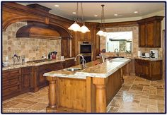 luxury kitchens in the world | Large Kitchen for a luxury home - Picture and…