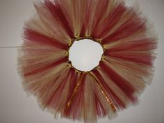 Gold and Maroon Tutu inspired by FSU by GameDayTutus on Etsy