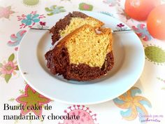 La combinación chocolate-mandarina es fantástica. Compruébalo con este magnífico bizcocho.  #sinlactosa #mandarina #chocolate #bundtcake #cocinandoparamiscachorritos http://blgs.co/80xNmV