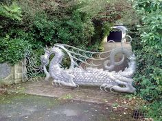 Dragon Gate by fearless frog
