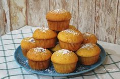 Muffinki z budyniem i malinami Bajecznie prosty przepis!