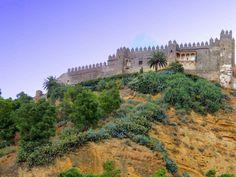 Muralla y castillo de Arcos de la Frontera. Cádiz. Spain. foto: Sebastian Aguilar.
