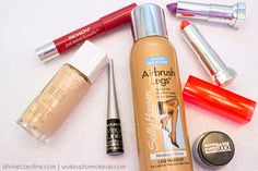 Product steals you need to snatch up at the drugstore! #stains #foundation #lipstick #eyeliner #tanner