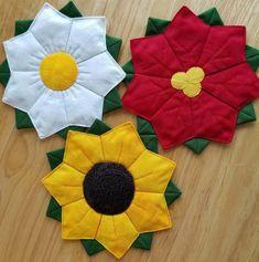 Dresden Flower Coasters Pattern