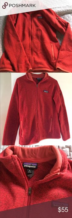 Patagonia better sweater jacket Here's a gently used Patagonia Better Sweater jacket. It's been gently worn and it still has a ton of life left! I'm only parting with it because I'm trying to downsize. Take this on your next adventure! Patagonia Jackets & Coats