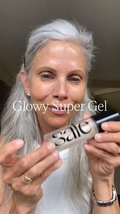 Clean, easy, elevated makeup for any and every age. @whitehairwisdom Beauty Makeup Tips, Beauty Secrets, Beauty Hacks, Hair Beauty, Makeup Tricks, Clean Makeup, Skin Makeup, Grey Hair And Makeup, Makeup For Moms