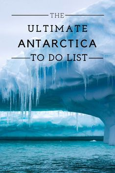 Things to Do in Antarctica: this is your ultimate guide to the seventh continent! From visiting a colony of penguins to visiting Sir Ernest Shackleton's grave to doing the polar plunge, here are the ultimate things to do in Antarctica. Antarctica Destinations, Antarctica Cruise, Cruise Destinations, Cruise Vacation, Vacation Trips, Dream Vacations, Europe Photos, Travel Photos, Travel Tips
