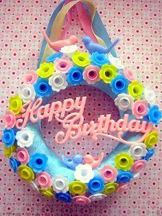 Vintage Birthday Decorations, Vintage Birthday Cakes, Vintage Birthday Parties, Vintage Party, Retro Party, Birthday Wishes, Happy Birthday, Birthday Cards, Pom Pom Crafts
