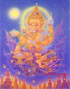 Ganesh Lord of Success - Chalermchai Kositpipat