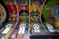 design-dautore.com: The Spanish Church converted into a Skatepark