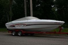 23 feet  2002 Baja 232 Cruiser (Power) , White/Red/Blk/Grey, 180 hours for sale in Flushing`, MI