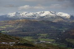 The Old Man of Coniston and Wetherlam Walk from Ambleside, Lake District, England