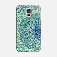 Emerald Doodle - Classic Snap Case