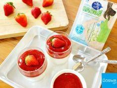 Strawberry Semifreddo , มูสสตอเบอรี่ สไตล์อิตาเลียน