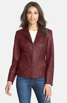 Women  Office Wearing Leather Jacket 100% Genuine Leather  #royal #biker