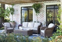 Block & Chisel Outdoor Lounge Suite for Free Summer Living
