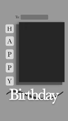 Birthday Post Instagram, Happy Birthday Posters, Birthday Posts, Mood Wallpaper, Instagram Story, Greeting Cards, Instagram Templates, Angeles, Wallpapers