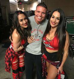 Brie, Tyson and Nikki Wwe Total Divas, Nxt Divas, Nikki And Brie Bella, Wwe Girls, Wrestling Divas, Wwe Womens, Wwe Wrestlers, Dancing With The Stars, Wwe Superstars