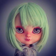 OOAK art doll Icy custom47 Bubble Tea by KDolls by KDollsHeaven