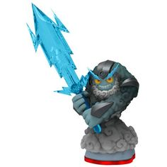 Join Thunderbolt and the Skylanders in the fight to save the day with this character pack. Armed with a Traptanium Storm Sword, Thunderbolt is ready to take on any creature that will harm Skylands. Thunderbolt has taken his place among the Skylanders to protect their homeland — are you prepared to join them?